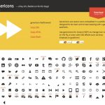 Genericons— a free, GPL, flexible icon font for blogs! wordpress 预装模板twentythirteen运用的图标字体